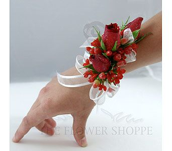 The 189 best para graduacion images on pinterest prom flowers red rose corsage for prom mightylinksfo
