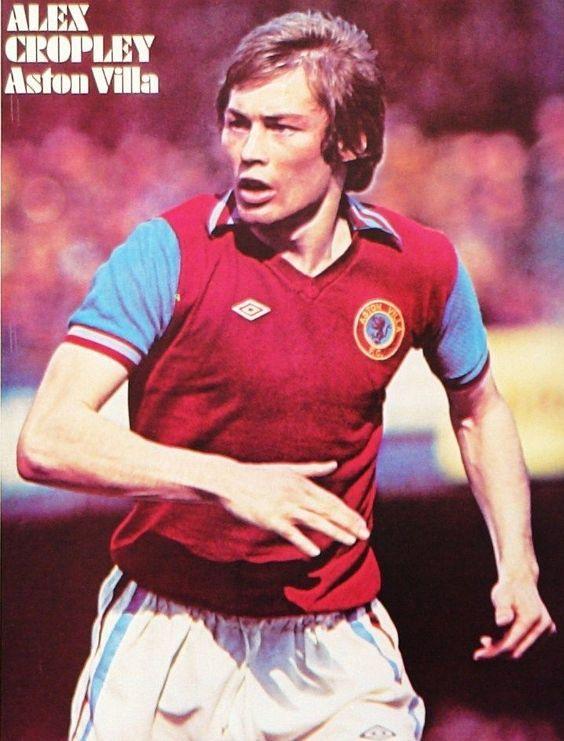 Alex Cropley Aston Villa 1977