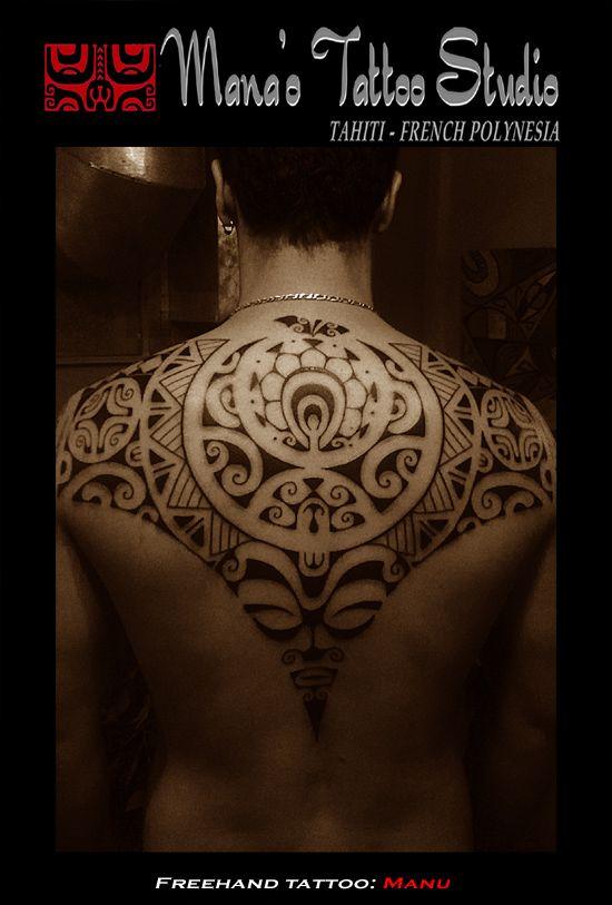 Polynesian / Tahitian Tattoo