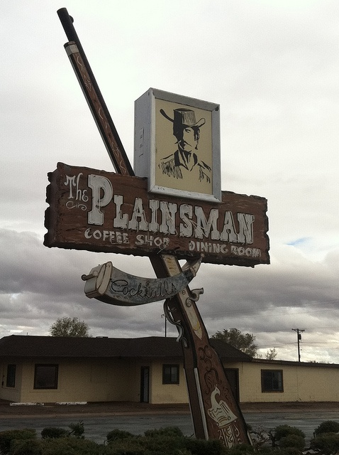 The Plainsman Coffee Shop/Dining Room, Route 66 My first waitressing job.