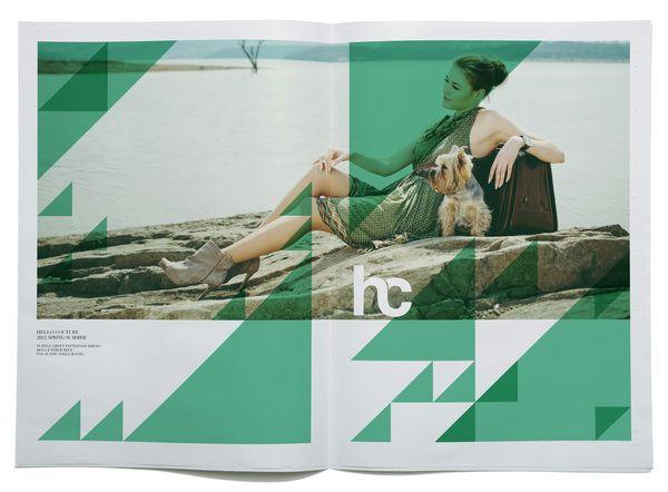Hello Couture 2012 Spring/Summer Aesthetics by Ryan Atkinson, via Behance