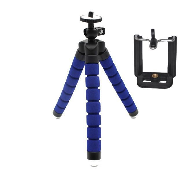 SltcrPasion DIY Flexible Tripe Video Digital Camera Tripod Stand Phone Mini Tripod with Holder for Gopro for Xiaomi-with Package