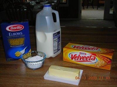 velveeta mac n cheese 2x2 easiest I found.