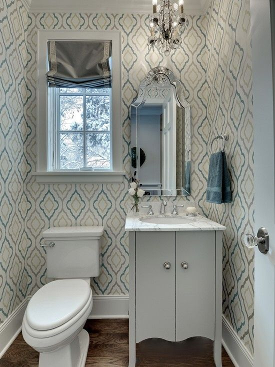 Awe-inspiring Candace Olsen Bathroom for Your Gorgeous Bathroom Design : Breathtaking Chandelier Combined Awesome Mirror With Simple Window And Luxury Cabinet In Candace Olsen Bathroom