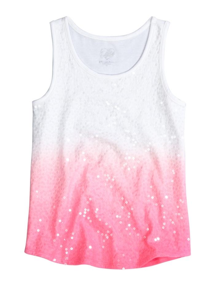 Sequin Dip Dye Tank   Dye Effects   Trend Alert   Shop Justice