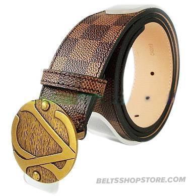 Designer Louis Vuitton Mens Belt