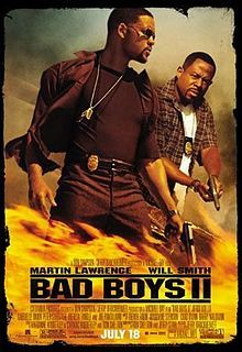 I really love Will Smith and Martin Lawrence together I can not wait until they make a third Bad Boys movie.