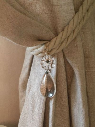 curtain tie backs curtain tie backs the rope look instead dangle 11873