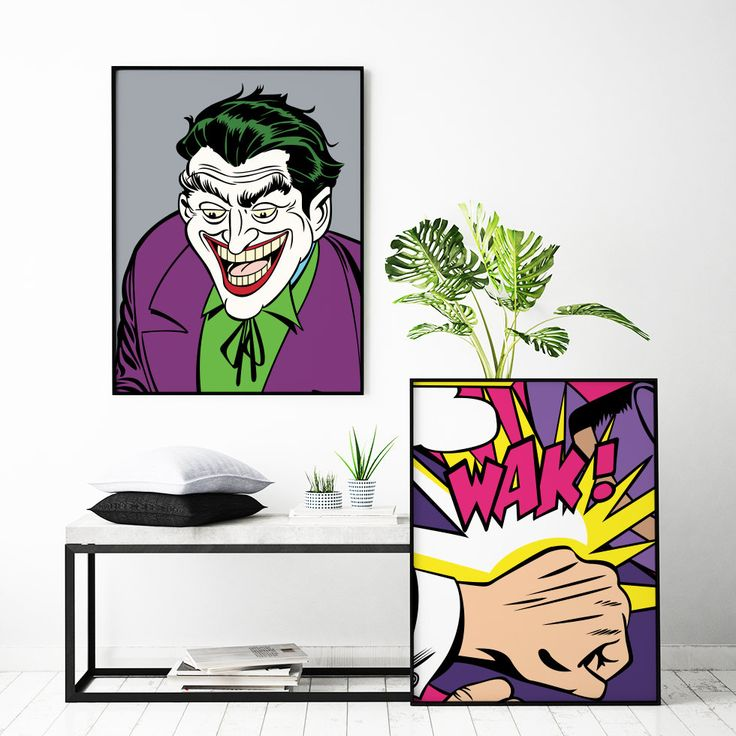 Joker The Villain Customizable Poster. Premium Quality