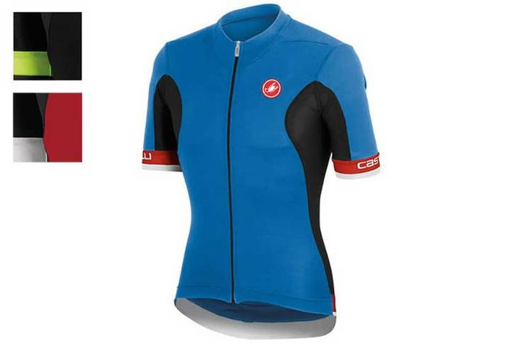 Castelli Volata FZ Short Sleeve Jersey | Evans Cycles