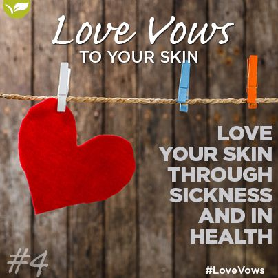 Love Vow no 4: Love your skin Through Sickness and in Health. We can get sunburnt or suffer from breakouts, make sure to provide your skin with extra care during these time. Placecol Rescue Therapy will sooth sunburnt skin and Placecol Spot on Therapy works wonders for blemishes.