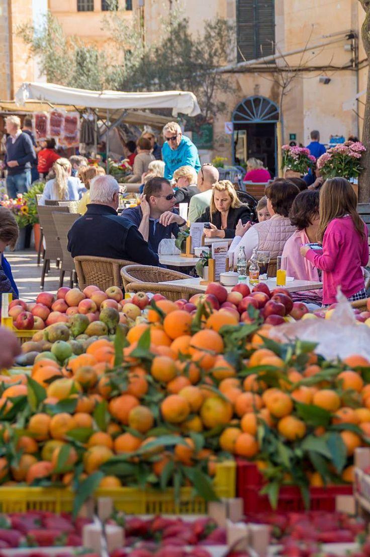 Der Markt in Santanyi auf Mallorca – Am Mittwoch und Samstag einen Besuch wert