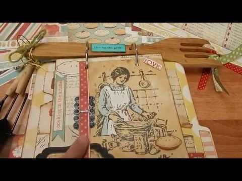 DIY Homemade with love recipe album by cartebella Project Share - YouTube
