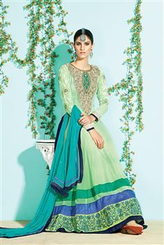 Designer Anarkali Party wear Salwar Suit