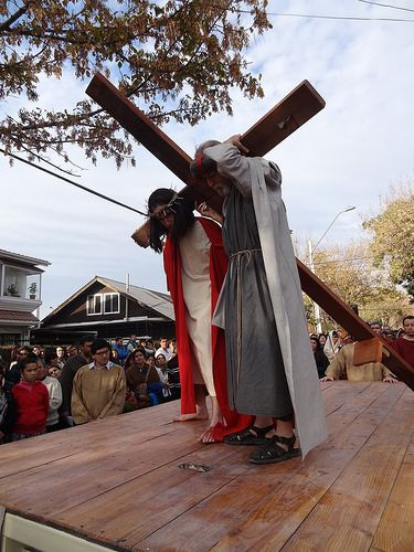 Santuario Cenáculo de Bellavista. Via crucis 2014 segunda parte