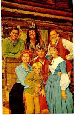 Jimmy Dean, Ed Ames, Patricia Blair, Darby Hinton, Fess Parker and Veronica