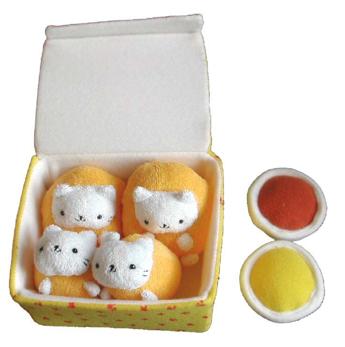 Nuggets Box Set: San X Nyanko Cat Nugget Plush Set