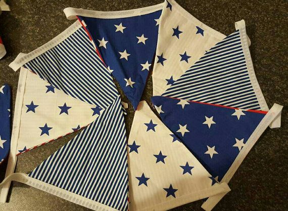 Check out this item in my Etsy shop https://www.etsy.com/uk/listing/491926156/stars-and-stripes-red-and-blue-bunting
