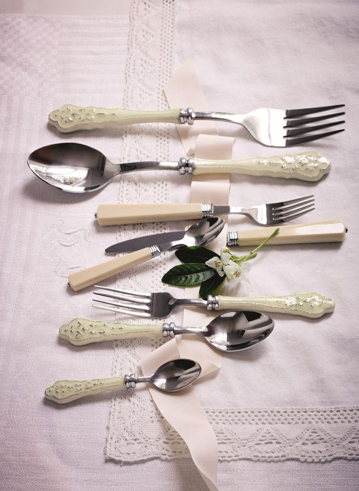 Dainty cutlery.