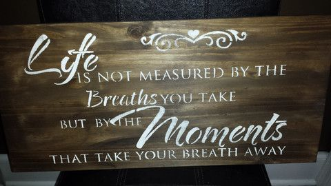 SPECIAL MOMENTS SIGN – Kimber Creations