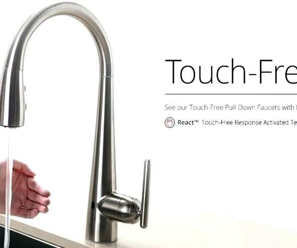 Delta Touchless Kitchen Faucet Touchless Kitchen Faucet Canada Baovetoc Co Delta Touch Kitchen F Touchless Kitchen Faucet Kitchen Faucet Touch Kitchen Faucet