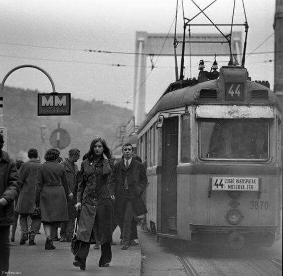 1972. Erzsébet híd.