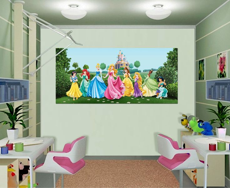 Disney Princess Wall Decor 85 best disney wall murals - disney room - kid's bedroom - disney