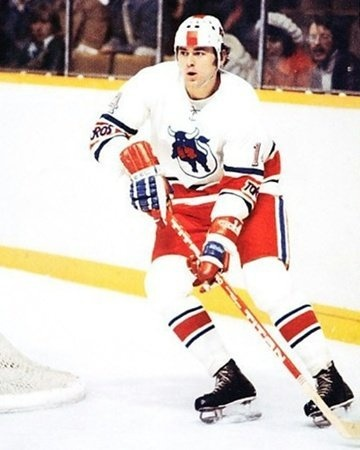 Toronto Toros of the WHA were originally the Ottawa Nats [Nationals], a charter team of the WHA. After 3 seasons of trying to out draw the NHL Maple Leafs, the Toros moved to form the Birmingham (AL) Bulls. Pictured Big Ned Vaclav Nedomansky - Toronto Toros uniform of the WHA.