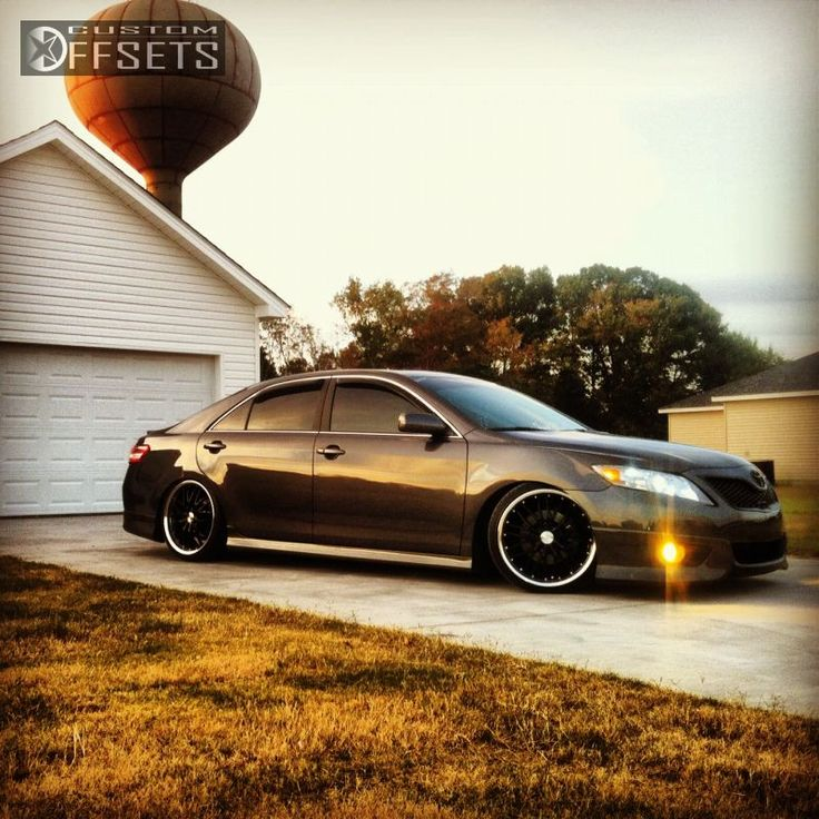 Wheel Offset 2011 Toyota Camry Tucked Dropped 3 Custom Rims