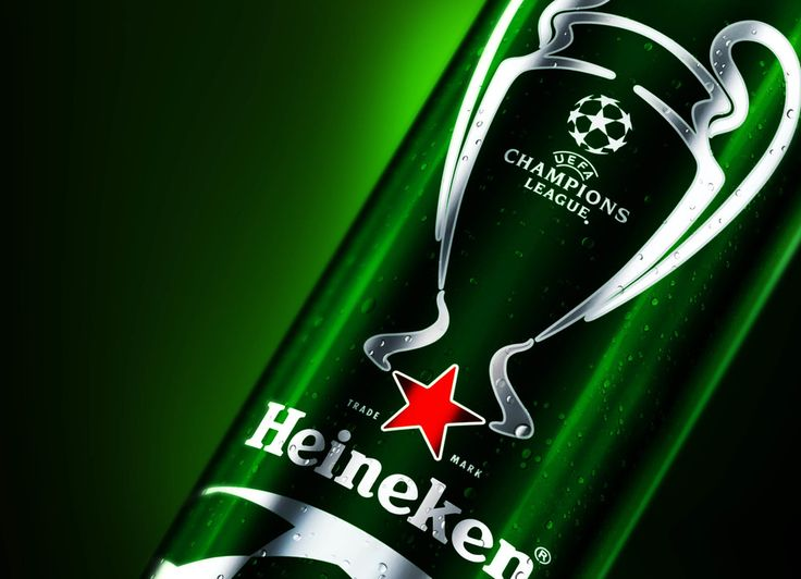 Heineken UEFA Champions League Beer — The Dieline - Package Design Resource