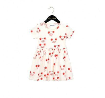 Mini Rodini's Red Mouse Dress, available from Baby Dino, www.babydino.com.au