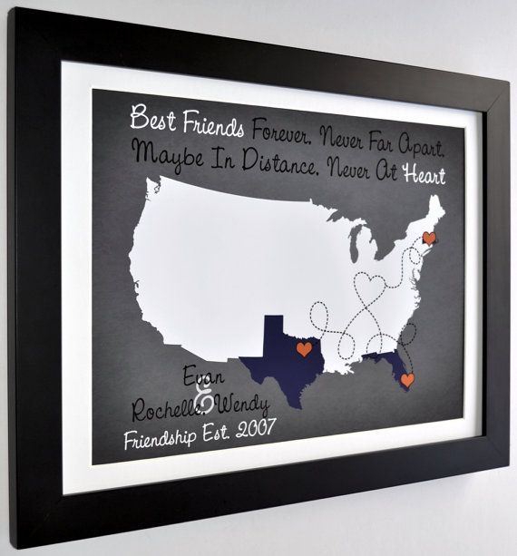 Customizable Gifts for Friends: Valentines Gifts by Printsinspired
