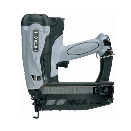 HITACHI Power Tools: Produits > Outils à air comprimé > Cloueuse Au Gas Sans Fil > NT65GS Cloueuse À Finition au gaz 2-1/2 po calibre 16,…