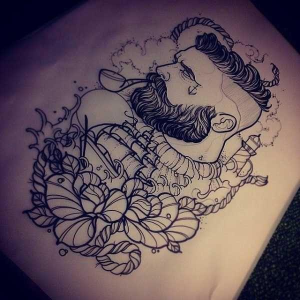 14 besten tattoo sketches bilder auf pinterest t towierung skizzen skizzen und tattoo zeichnungen. Black Bedroom Furniture Sets. Home Design Ideas