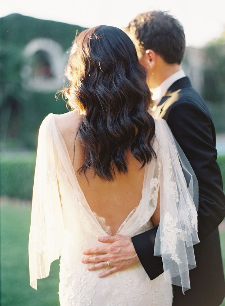 Bride wearing Pronovias   Photo by Rylee Hitchner