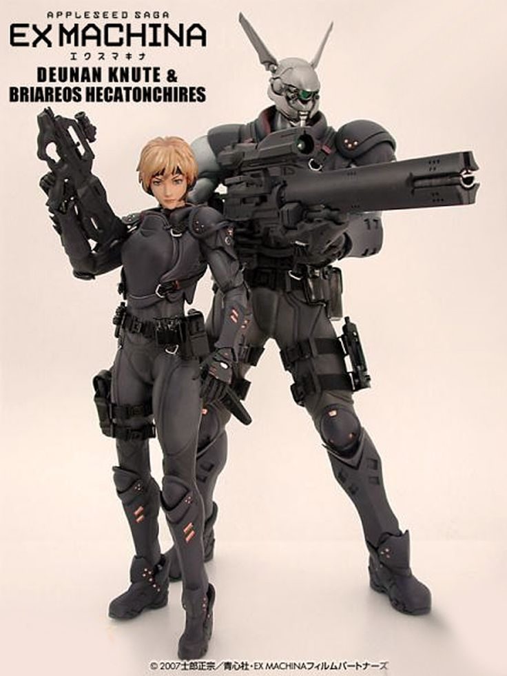 Appleseed Character Design : Appleseed ex machina briareos deunan anime apple seed sci