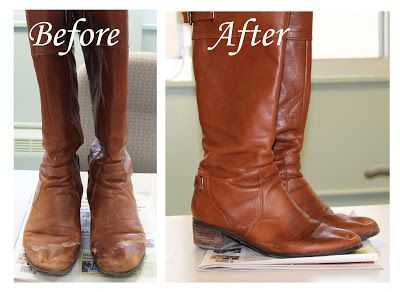 Use a mixture of vinegar and cold water to scrub water stains off of leather. Good to know! #clean, #tips