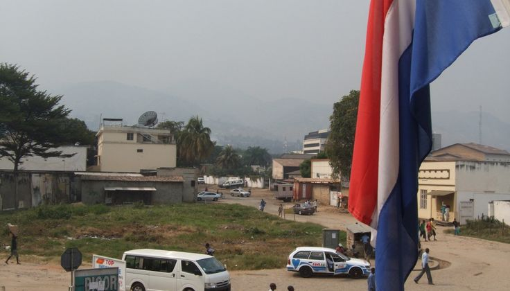 View from the Dutch embassy in Bujumbura