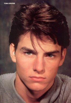 Tom Cruise young and hot
