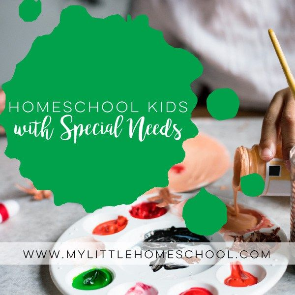 Homeschool kids with special needs do really well with the flexibility of homeschool. At My Little Home School we plan ahead, but we also go with the flow. (scheduled via http://www.tailwindapp.com?utm_source=pinterest&utm_medium=twpin)
