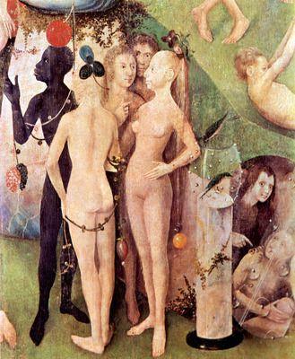 The Garden of Delights, detail [15] by Bosch. Order from DEKORAMI as a poster, canvas print, mural. Zamów jako obraz na płótnie, plakat lub fototapetę na DEKORAMI.pl