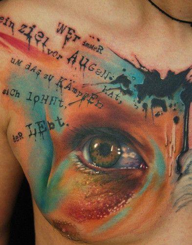 Photorealistic eye