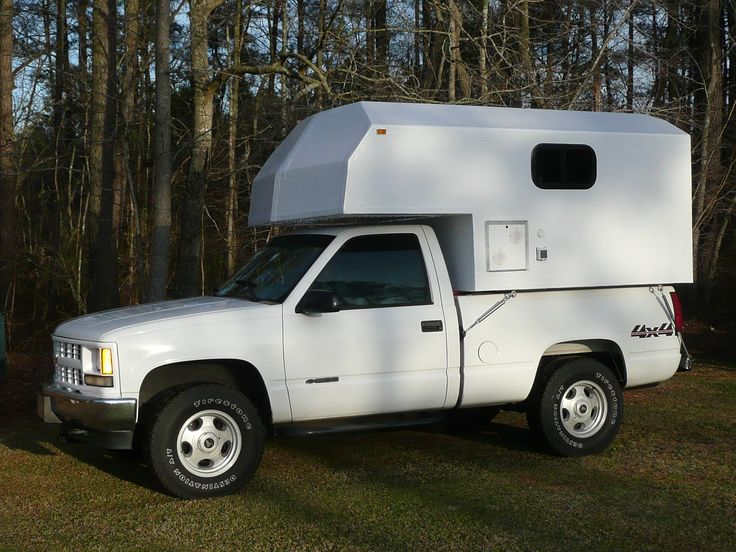 One Guy's Slide-In Truck Camper Project: January 2013