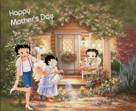 Betty Boop Happy Mother's Day