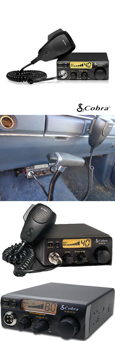 CB Radios: Cobra 19Dxiv Compact Cb Radio -> BUY IT NOW ONLY: $44.55 on eBay!