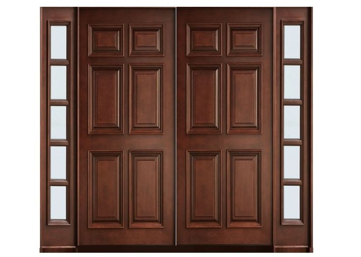 19 best main double doors images on pinterest double for Entry double door designs