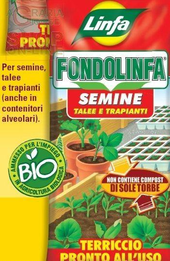LINFA TERRICCIO PROFESSIONALE PER SEMINA LT. 50 http://www.decariashop.it/terricci/9174-linfa-terriccio-professionale-per-semina-lt-50-8014815013195.html