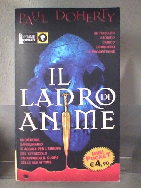 Il ladro di Anime di Paul Doherty