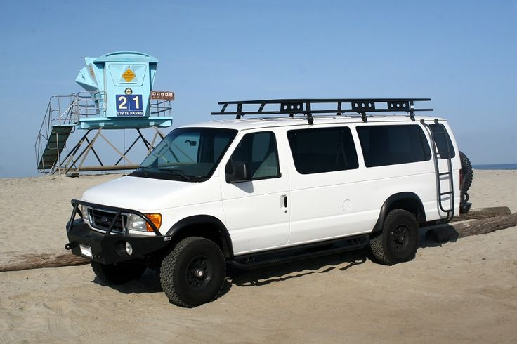 Ford E 350 EB Van with Aluminess gear all around!