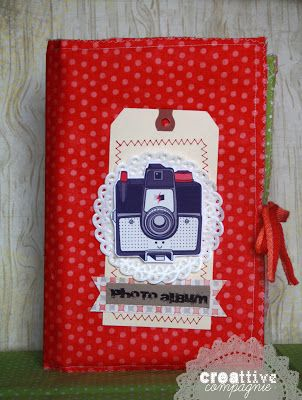 creattive compagnie: Fabric Journal